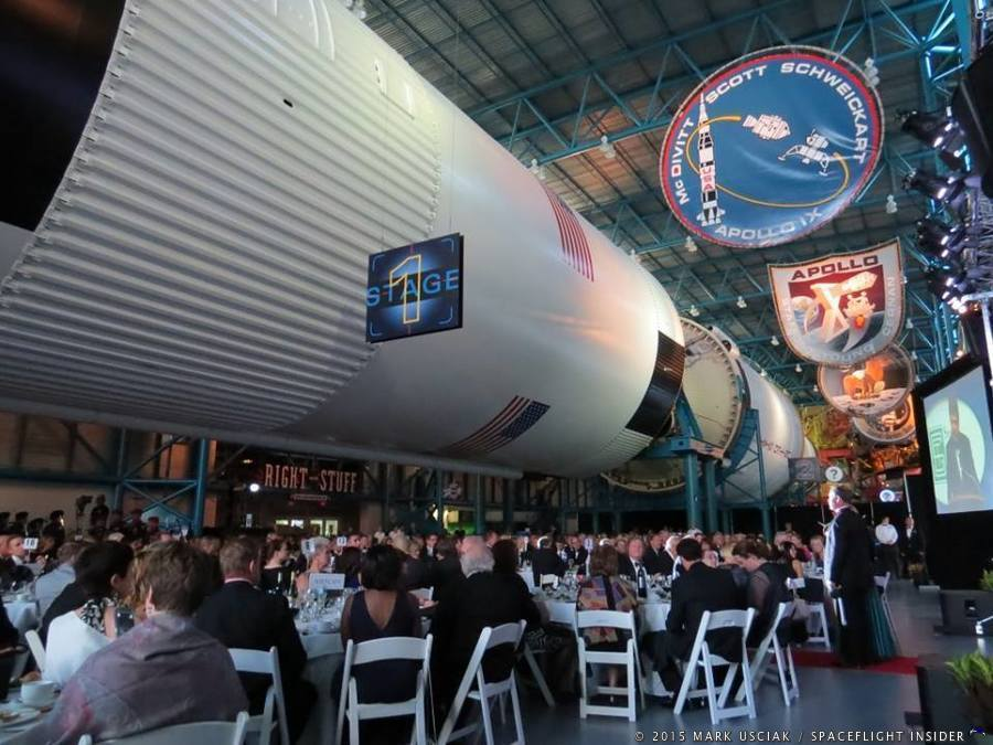Kennedy Space Center Visitor Complex Saturn V Center 2015_astronaut_hall_of_fame_induction_ceremony-mark_usciak SpaceFlight Insider