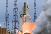 Ariane 5 rocket launches DirecTV-15 and Sky Mexico-1 communications satellites on May 27