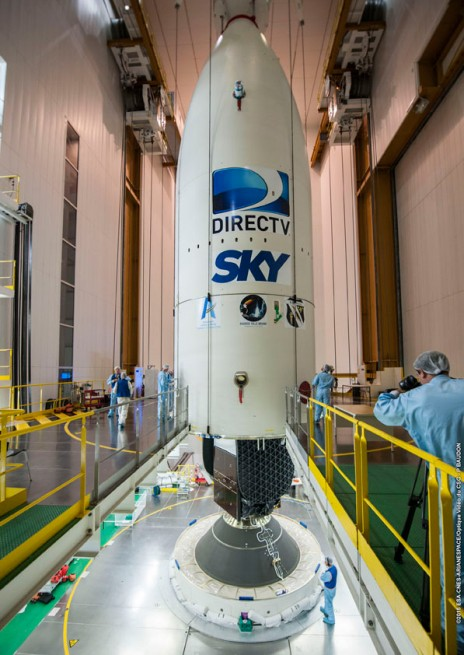 Arianespace Ariane 5 DirecTV DirectTV Sky Mexico Direct TV satellite Arianespace photo posted on SpaceFlight Insider