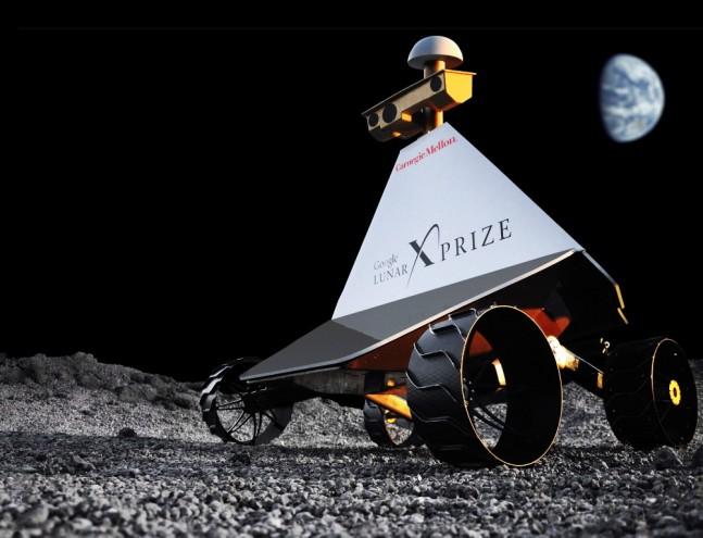 Astrobotic CMU Moon lunar rover Image Credit Astrobotic