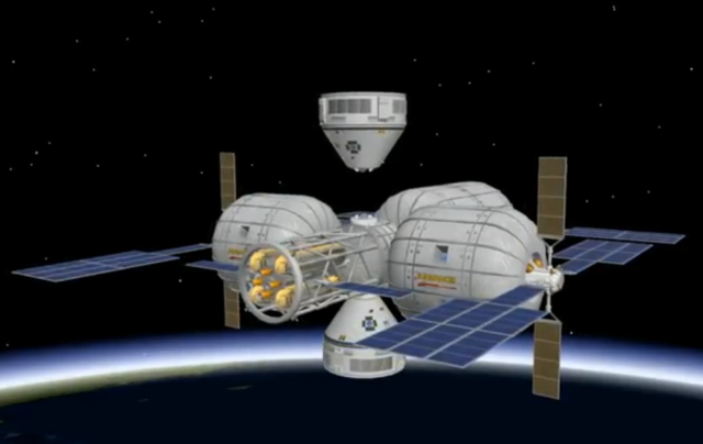 Boeing Bigelow Aerospace CST 100 space station BA image