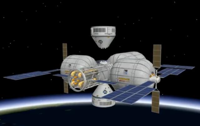 Boeing Bigelow Aerospace CST 100 space station BA image