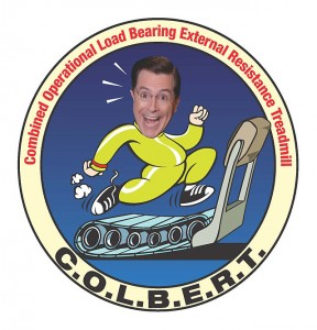 COLBERT Treadmill patch image credit NASA