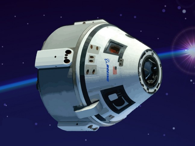 Boeing's Commercial Space Transportation CST-100 spacecraft is one of two vehicles competing under NASA's Commercial Crew Program CCP to send astronauts to the International Space Station Boeing image posted on SpaceFlight Insider