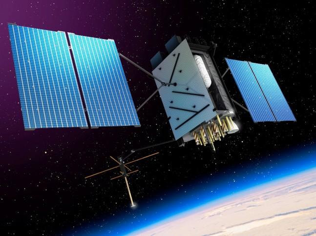 GPS III Global Positioning Satellite Lockheed Martin image