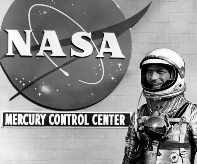 Mercury 7 astronaut Scott Carpenter NASA photo posted on SpaceFlight Insider