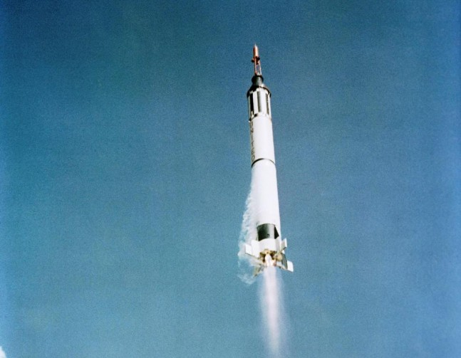 Mercury Redstone Freedom 7 Cape Canaveral Air Force Station NASA photo posted on SpaceFlight Insider