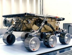 NASA photo Mars Pathfinder Sojourner rover
