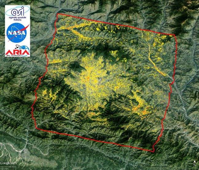 Nepal Earthquake image NASA photo posted on SpaceFlight Insider