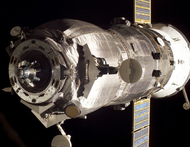 Progress_M-55_undocking_from_ISS