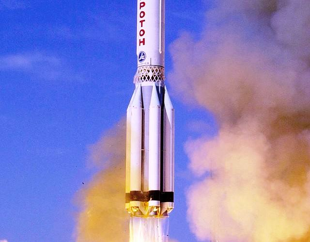 Proton_Zvezda launch Briz M NASA image posted on SpaceFlight Insider