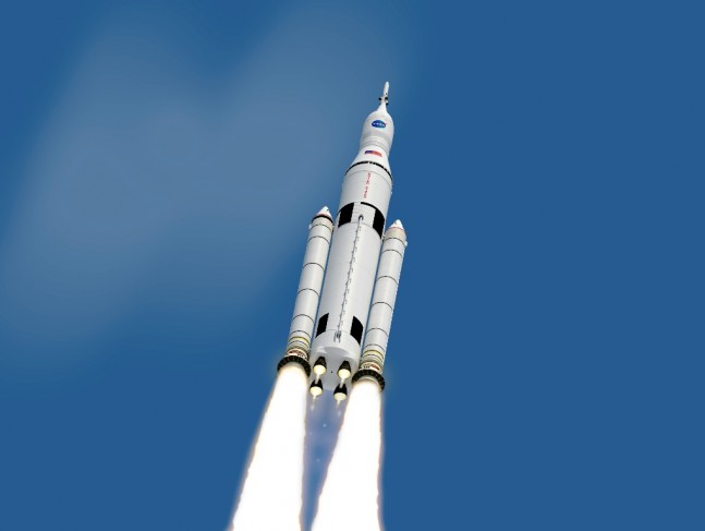 Space Launch System SLS NASA image