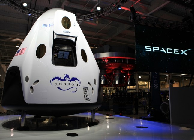 SpaceX Dragon V2 commercial crew program NASA photo posted on SpaceFlight Insider