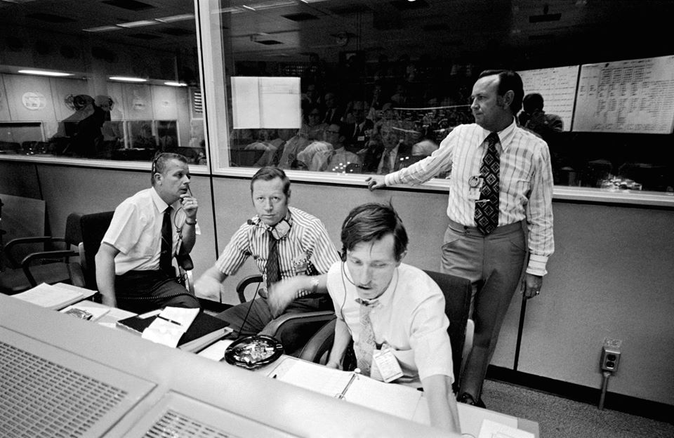 Jack King Chris Kraft Launch Control Center Kennedy Space Center photo credit NASA / Retro Space Images