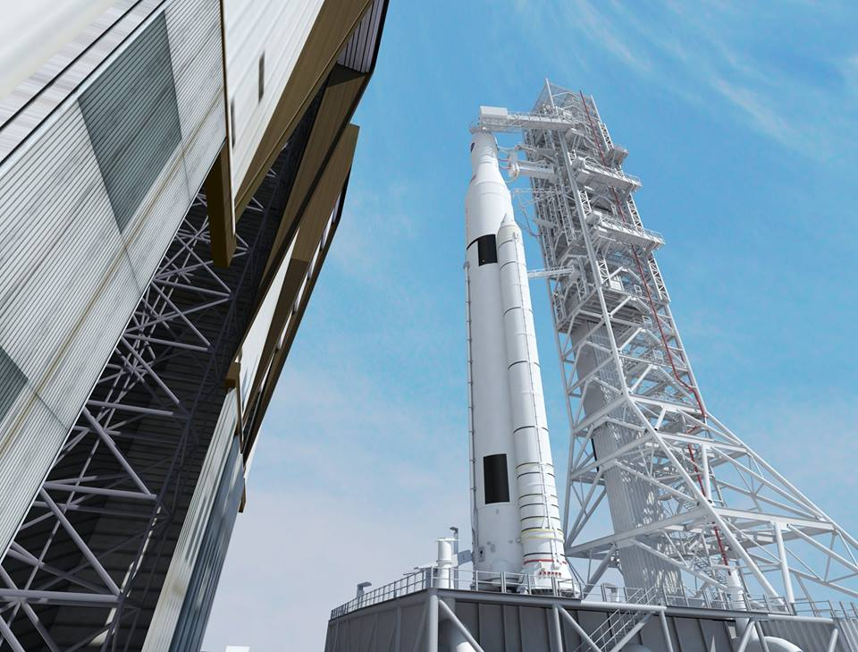 NASA Vehicle Assembly Building VAB Space Launch System SLS NASA image posted on SpaceFlight Insider