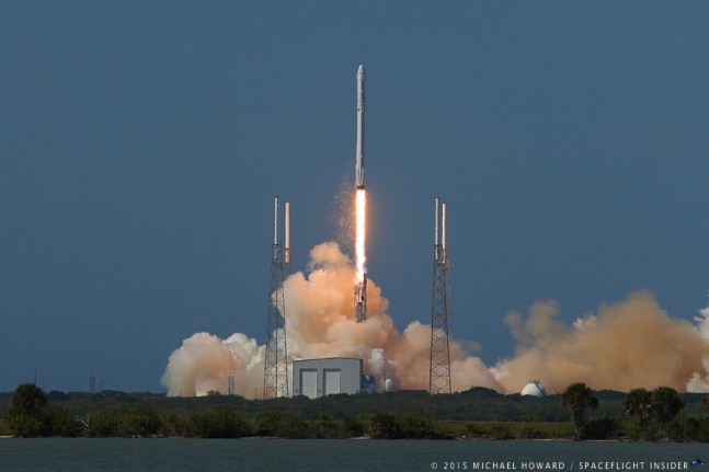 SpaceX Falcon 9 v1.1 Commercial Resupply Services 6 launch Cape Canaveral Air Force Station Space Launch Complex 40 photo credit Michael Howard SpaceFlight Insider