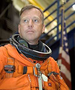 NASA STS-121, STS-133 Commander Steve Lindsey NASA photo posted on SpaceFlight Insider
