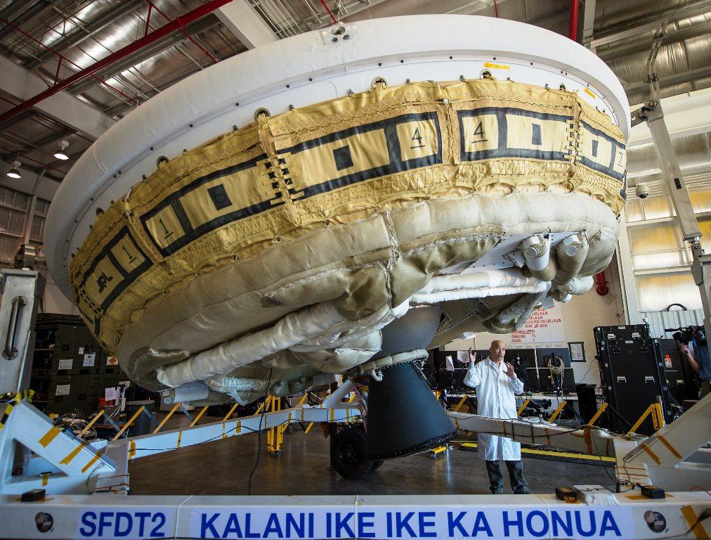 Low Density Supersonic Decelerator LDSD Bill Ingalls NASA photo posted on SpaceFlight Insider
