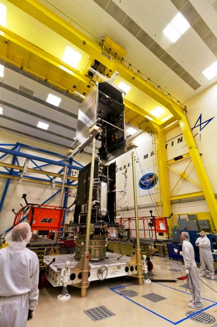 GOES-R Sys Mod / Core Mod Mate Lockheed Martin photo posted on SpaceFlight Insider