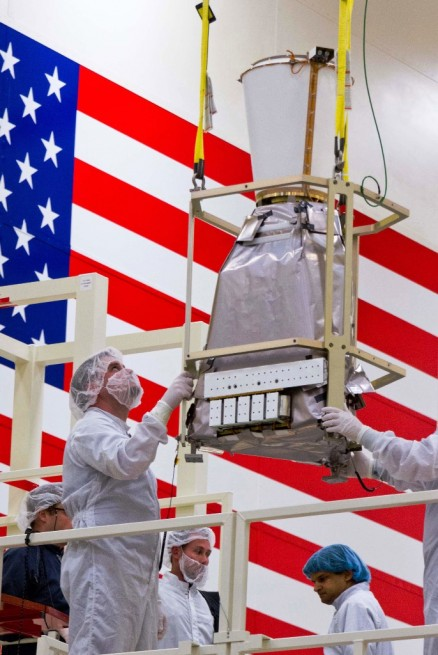 GOES-R GLM install Lockheed Martin photo posted on SpaceFlight Insider
