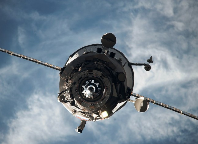 International Space Station Russian Federal Space Agency Roscosmos Progress cargo spacecraft NASA photo posted on SpaceFlight Insider