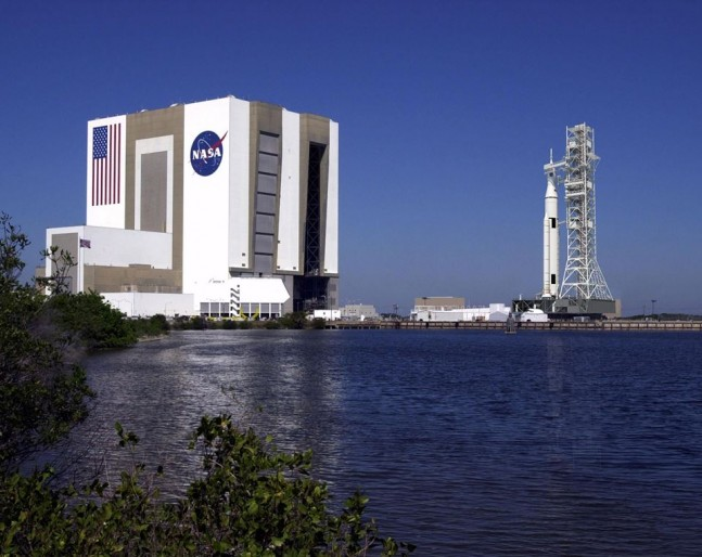 Kennedy Space Center KSC Vehicle Assembly Building VAB Space Launch System SLS NASA image posted on SpaceFlight Insider