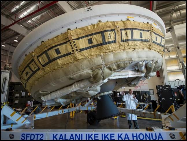 Low Density Supersonic Decelerator LDSD NASA Bill Ingalls photo posted on SpaceFlight Insider