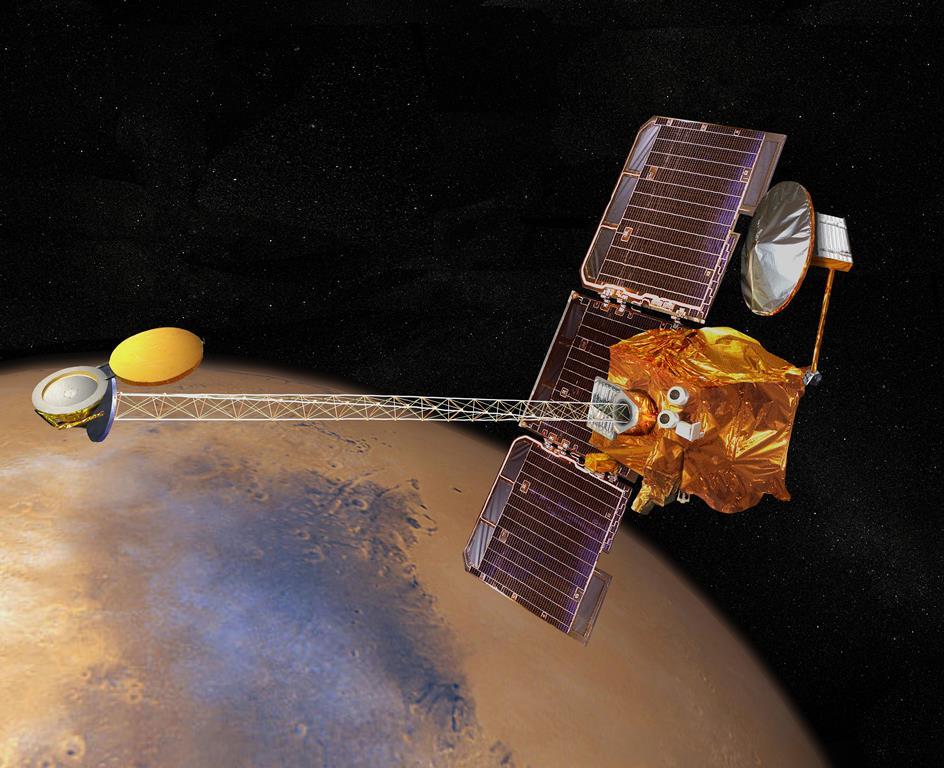 NASA's Mars Odyssey spacecraft nears 60,000th orbit ...