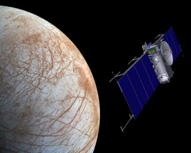NASA spacecraft conducts flyby of Europa JPL image posted on SpaceFlight Insider