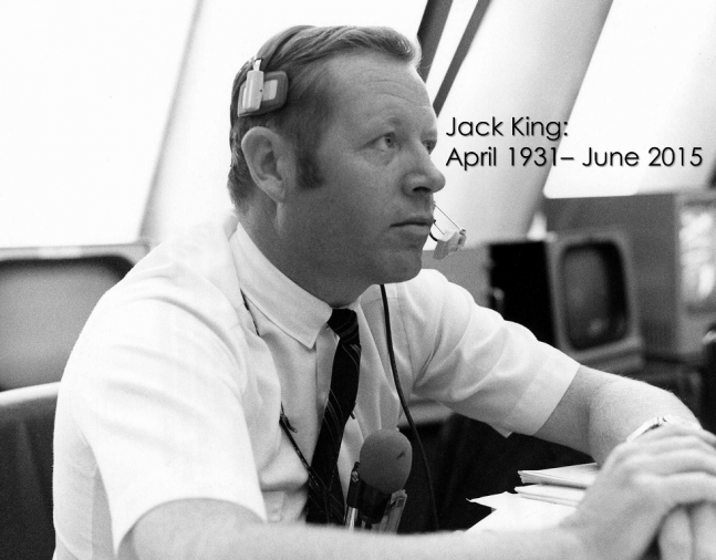 Voice of Apollo Jack King Kennedy Space Center NASA photo posted on SpaceFlight Insider