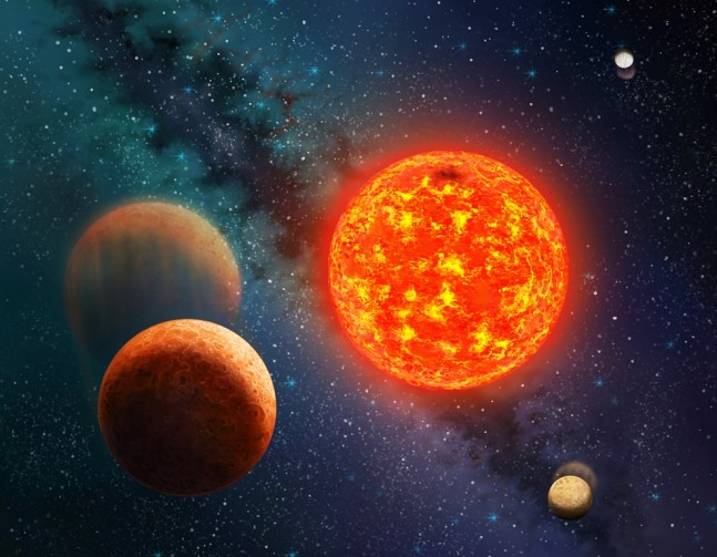 SETI Institute image of Kepler 138 around parent star small planet was discovered using data from NASA's Kepler spacecraft posted on SpaceFlight Insider