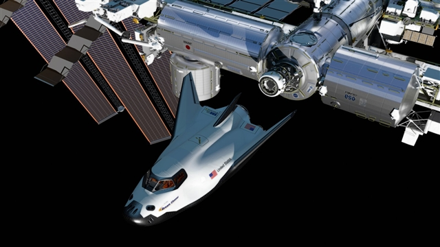 SNC-Dream-Chaser-ISS-International-Space-Station-commercial-crew-program-Sierra Nevada Corporation Dream Chaser NASA SNC image posted on SpaceFlight Insider