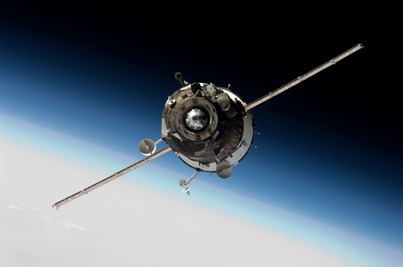 Soyuz Spacecraft Approaching The International Space Station NASA photo posted on SpaceFlight Insider