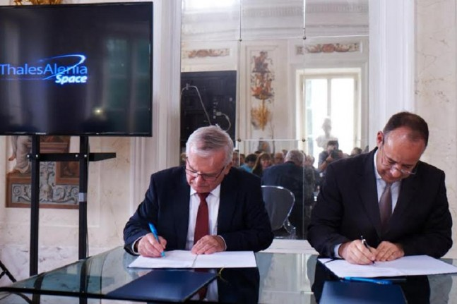 Thales Alenia Space Polska agreement signing on June 8, 2015