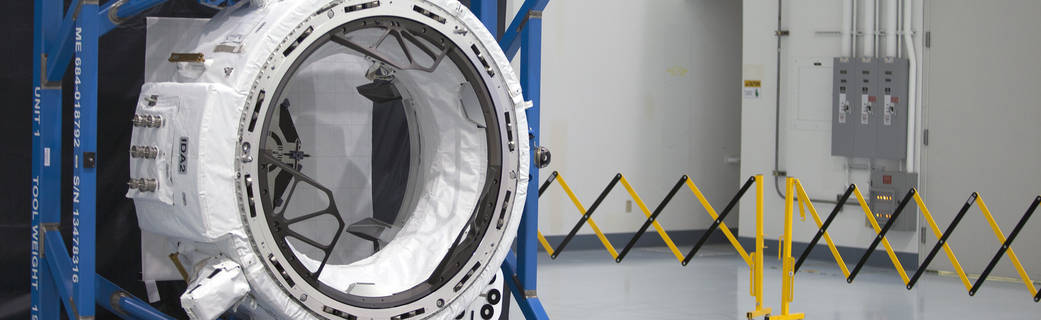 Boeing's International Docking Adapter 2, IDA-2, prior to its inclusion on the CRS-9 manifest. Photo Credit: NASA posted on SpaceFlight Insider