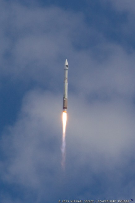 GPSIIF10 AtlasV Launch by United Launch Alliance ULA Atlas V 401 GPS IIF 10 photo credit Michael Seeley SpaceFlight Insider