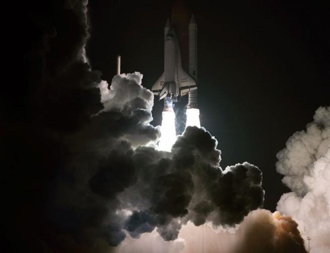 Space Shuttle Columbia launches from NASA Kennedy Space Center Launch Complex 39A photo credit NASA posted on SpaceFlight Insider