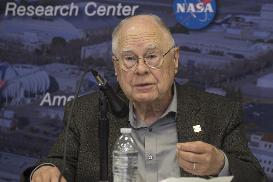 William Borucki at the Kepler Science Conference in November 2013