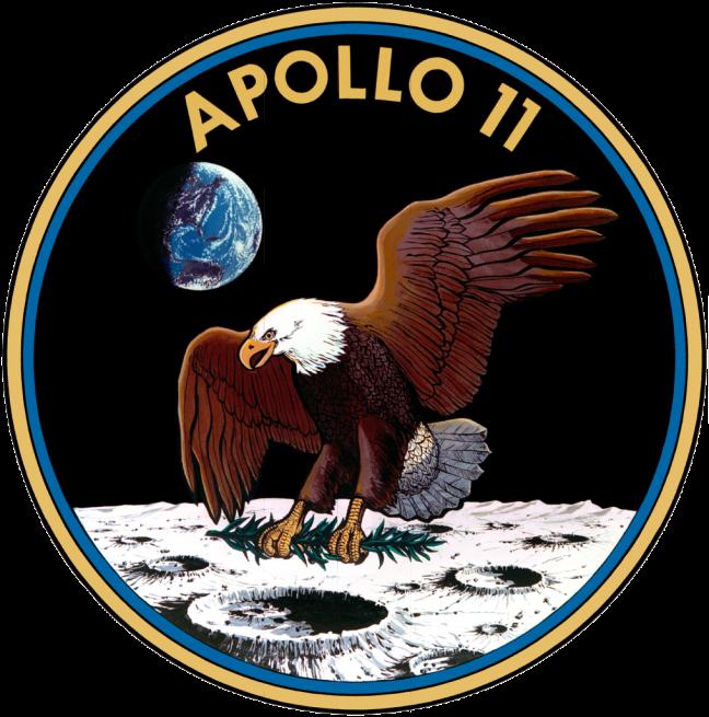 Apollo 11 logo NASA image posted on SpaceFlight Insider