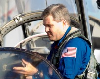 NASA Astronaut Stephen Frick Commander Space Shuttle Atlantis NASA Johnson Space Center photo posted on SpaceFlight Insider