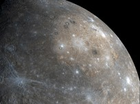 NASA MESSENGER image of the planet Mercury posted on SpaceFlight Insider