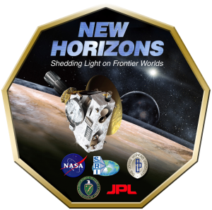 NASA New Horizons logo. Image Credit: NASA