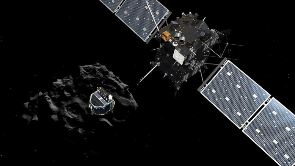 Rosetta Philae lander comet 67P photo credit European Space Agency ESA posted on SpaceFlight Insider