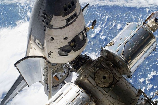 STS-132 Atlantis at the International Space Station ISS NASA photo posted on SpaceFlight Insider
