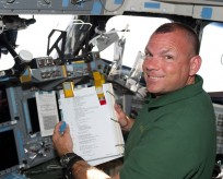 STS-132 Tony Antonelli Space Shuttle Atlantis International Space Station ISS NASA photo posted on SpaceFlight Insider