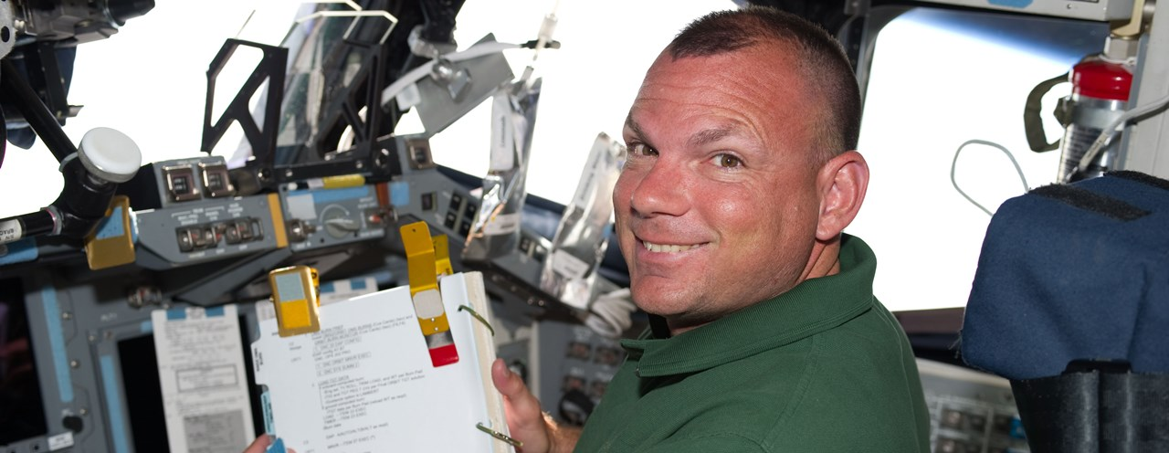 NASA astronaut Tony Antonelli, seen here during STS-132, has decided to leave NASA. Photo Credit: NASA