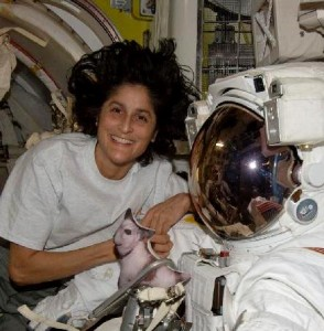 Sunita Williams NASA astronaut International Space Station NASA photo posted on SpaceFlight Insider