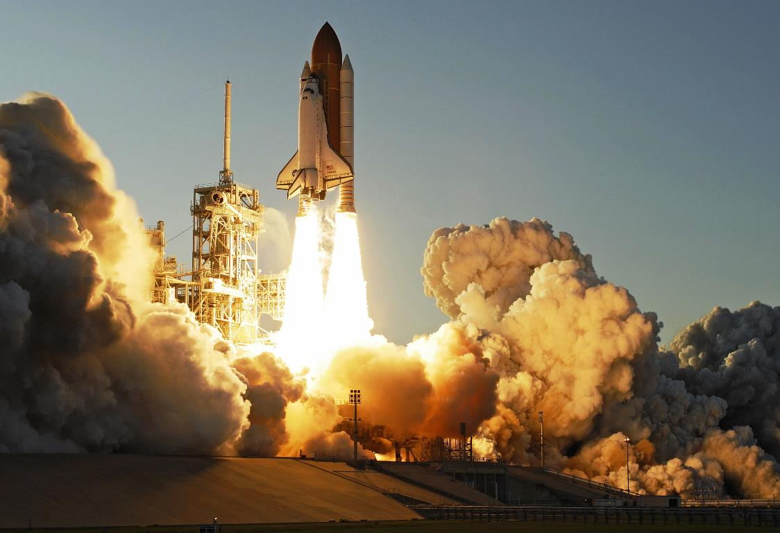 Space shuttle Atlantis lifts off on mission STS-117 in June of 2007. Photo Credit: NASA