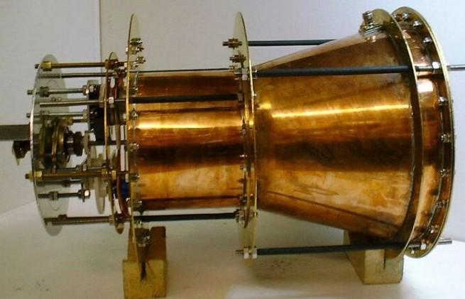 EMDrive image credit SPR Ltd. posted on SpaceFlight Insider