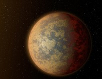 Exoplanet orbiting distant star Spitzer Space Telescope NASA photo posted on SpaceFlight Insider